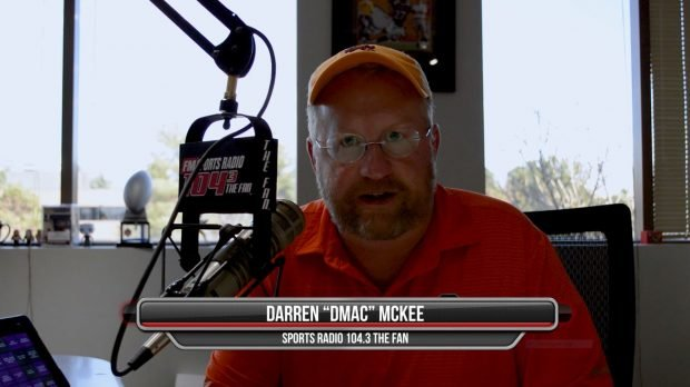 "A screen grab of ""The Drive"" host DMac."