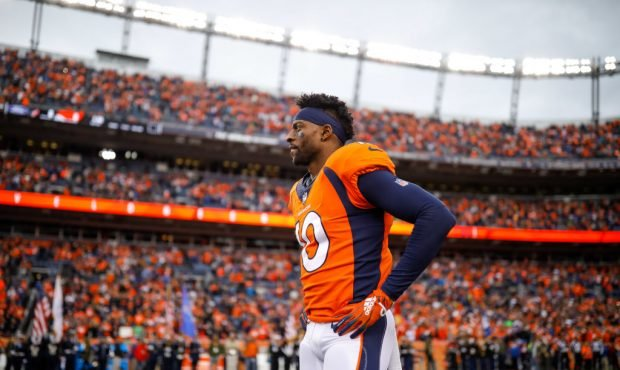 Broncos Believe Wide Receiver Emmanuel Sanders Injured Achilles at Practice