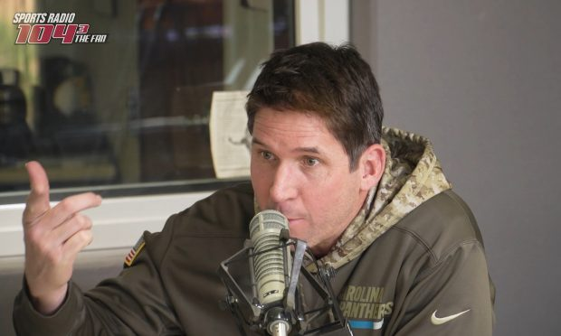 Most everyone has a story about where they were on Sept. 11, 2001, but Ed McCaffrey has a tale that will leave you with chills.