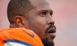 DENVER, CO - DECEMBER 22: Denver Broncos Linebacker Von Miller (58) during a regular season game between the Denver Broncos and the visiting Detroit Lions on December 22, 2019 at Empower Field at Mile High in Denver, CO. (Photo by Russell Lansford/Icon Sportswire via Getty Images)